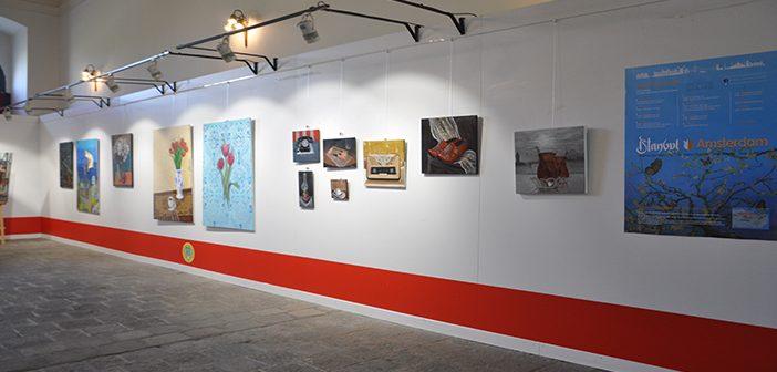 'İstanbul-Amsterdam Sanatçı Buluşması' Sergisi İstanbul Üniversitesinde