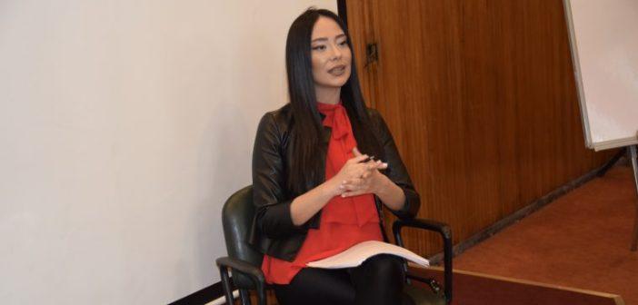 İÜWEBTV Sunuculuk Atölyesi'nin Bu Haftaki Konuğu Çiğdem Ceylan
