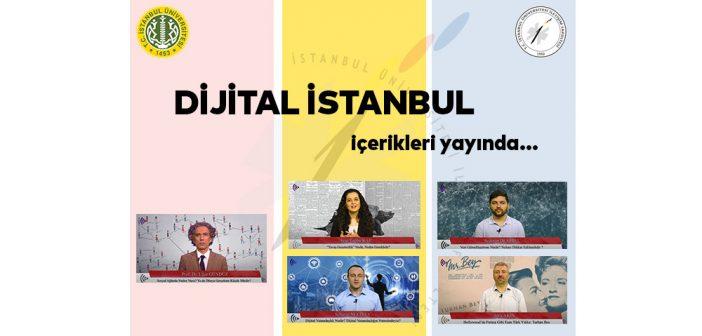 """""""Dijital İstanbul"""" içerikleri yayında…"""