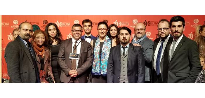 İstanbul Üniversitesi İletişim Fakültesi Ekibi 8. Malatya Uluslararası Film Festivali'nde