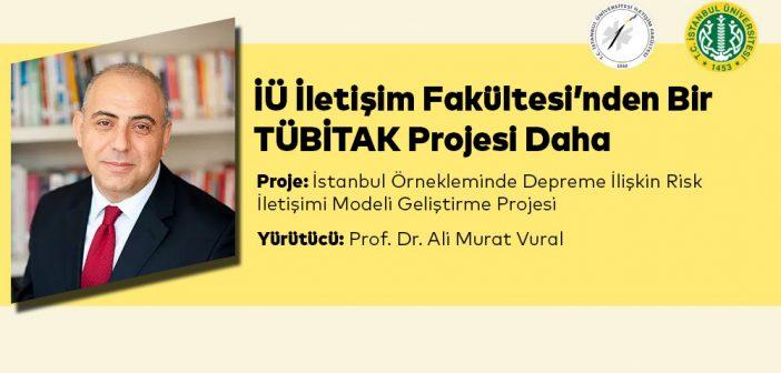 İstanbul Üniversitesi İletişim Fakültesi'nden Bir TÜBİTAK Projesi Daha